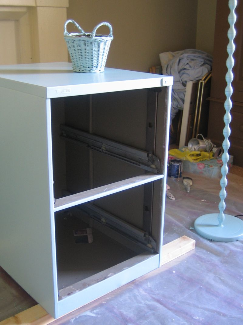 how to build your own file cabinet