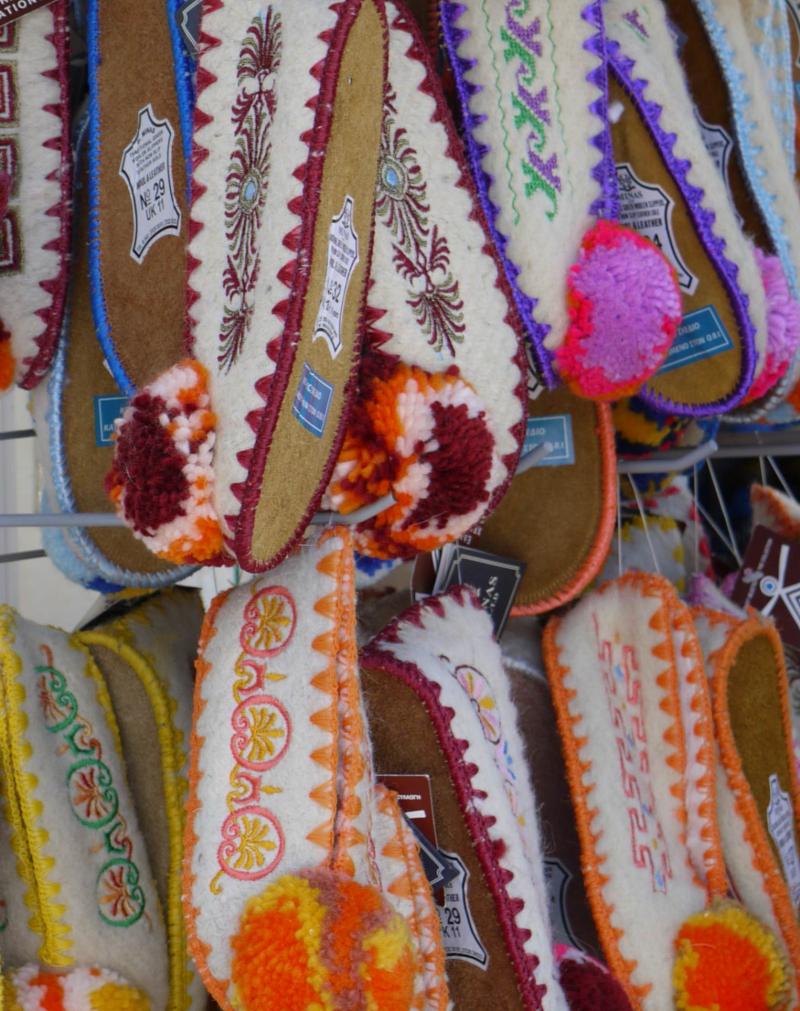 Greek-slippers