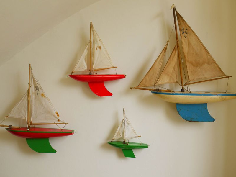 Boats-on-wall