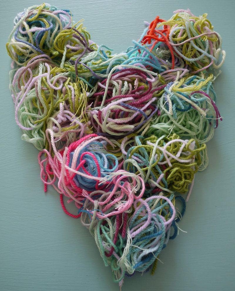 Yarn-heart-