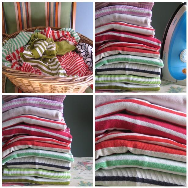 Mosaic,ironing stripes 1