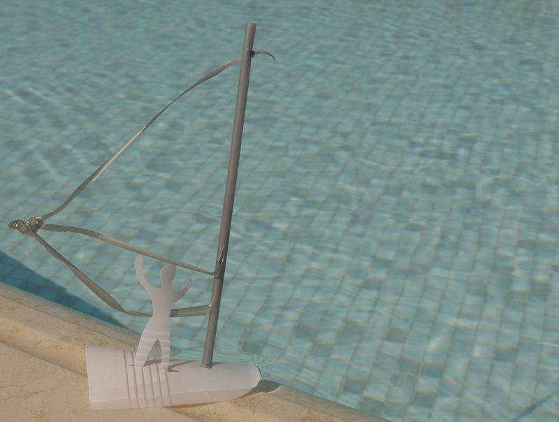 Windsurfer,plastic