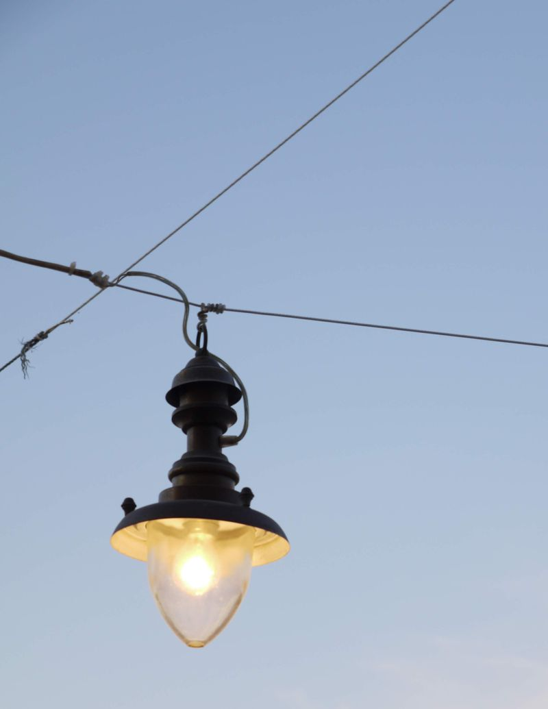 Lamp-against-sky