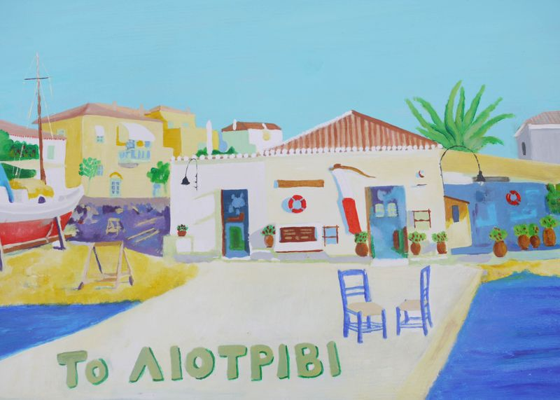 Restaurant-painting