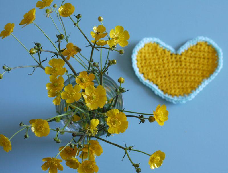 Buttercups,heart2