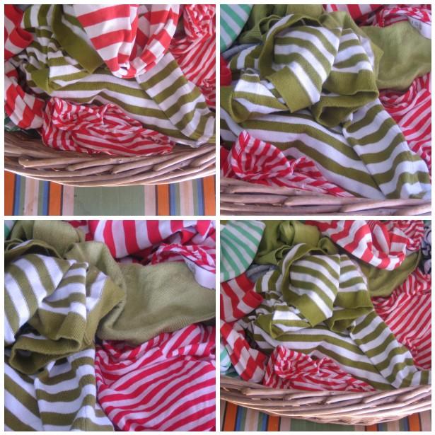 Mosaic ironing stripes 2