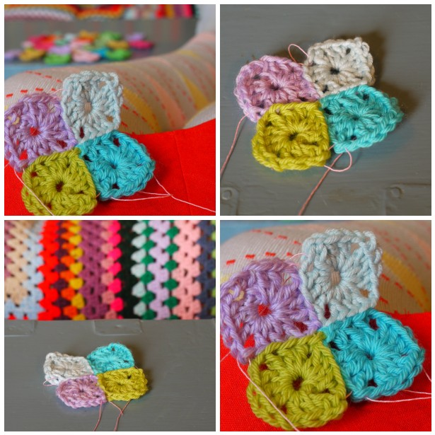 Mosaic crochet sqs 2