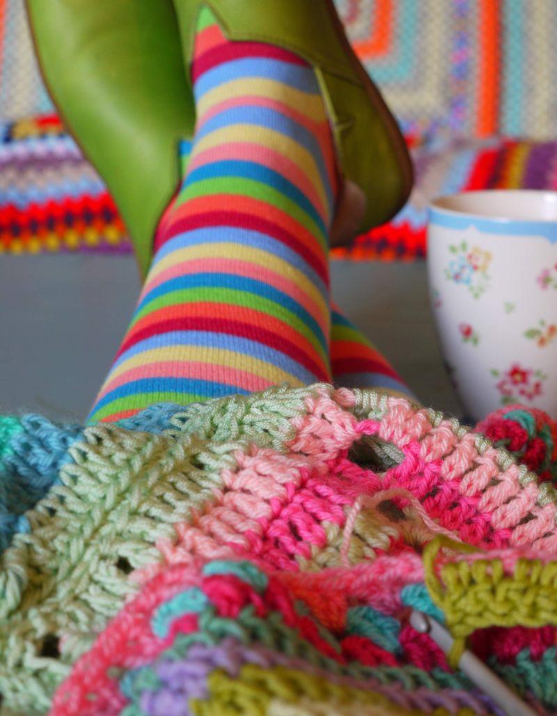Crochet-and-legs