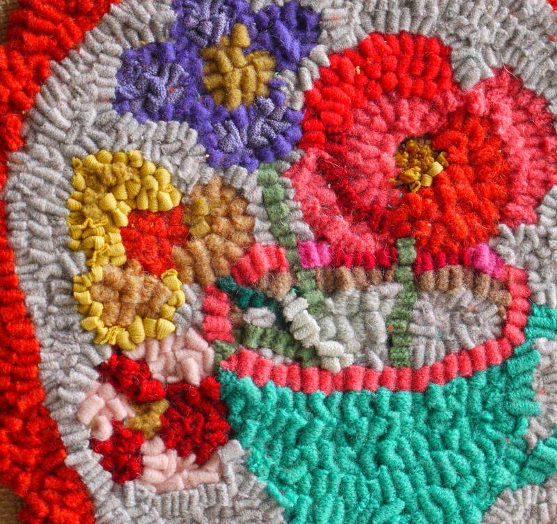 Rag-rug-detail