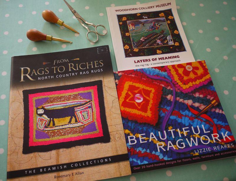 Rag-rug-books