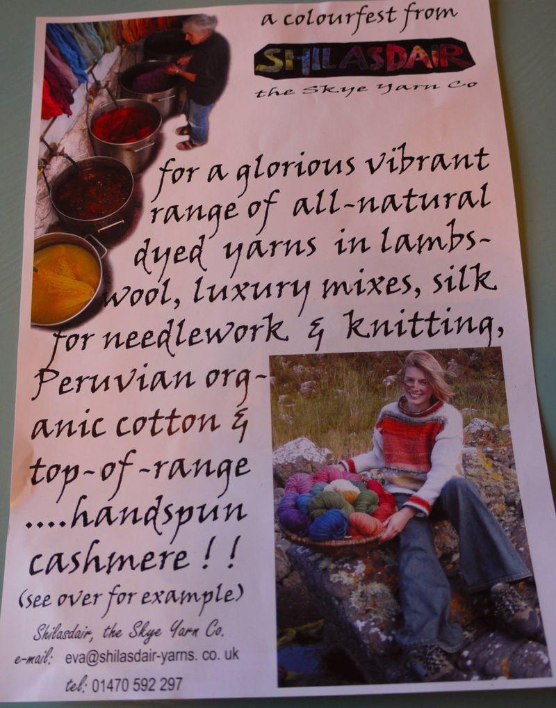 Yarn,leaflet