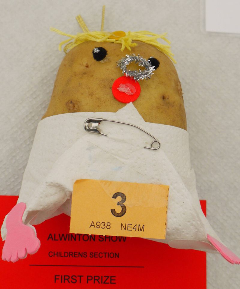 Potatoe-baby