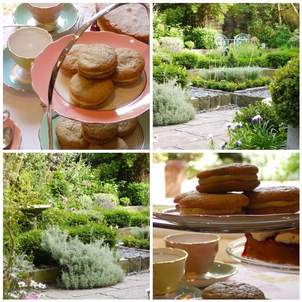Mosaic garden, tea