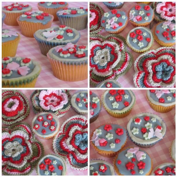Mosaic cupckes,cro