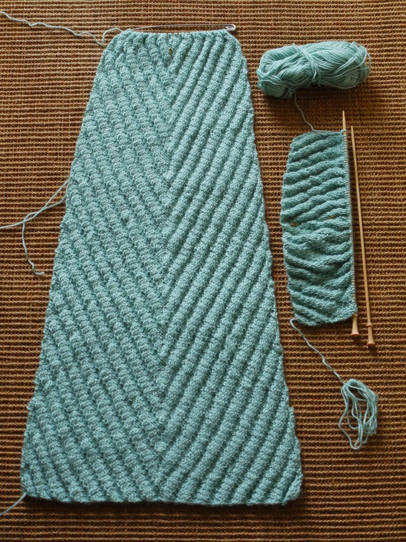 Knit-on-sisal