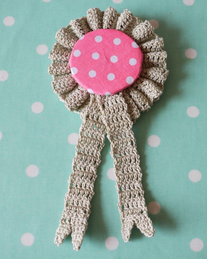 Crochet-rosette