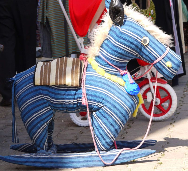 Turk,-cloth-rocking-horse