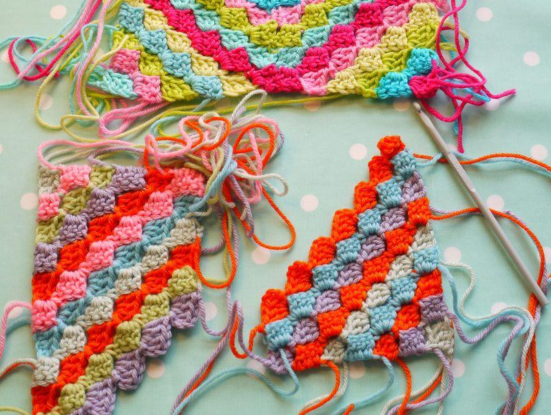 Crochet-swatches