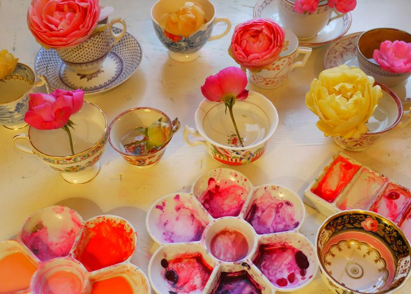 Flowers-in-cups