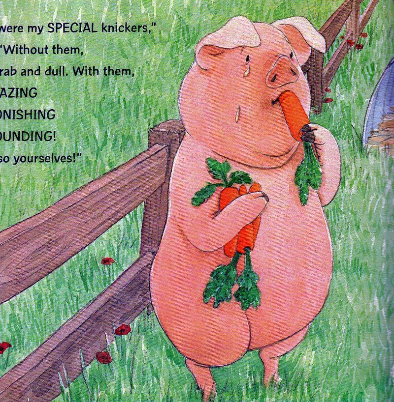 Pig-comfort-eating