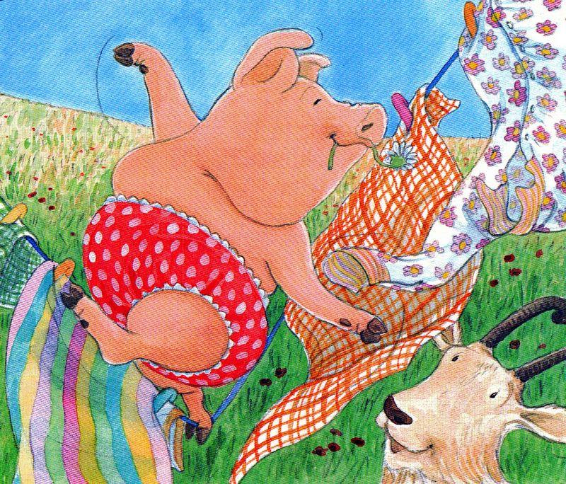 Pigs-kn-pig,goat-on-wash-li