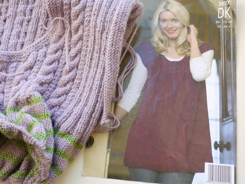 Knit-and-patt