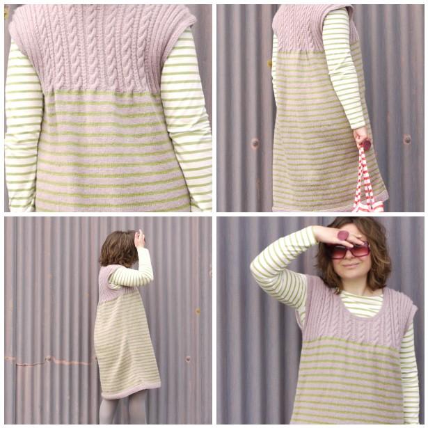 Mosaic 3 knit dress