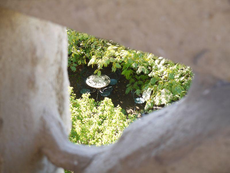Through-stone-hole