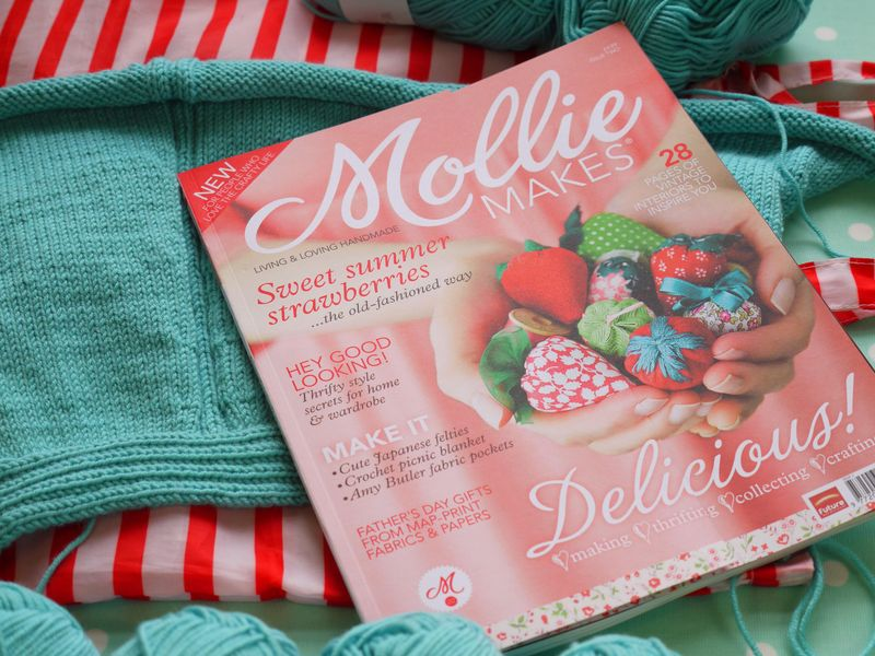 Mollie-makes-cover,-no-2