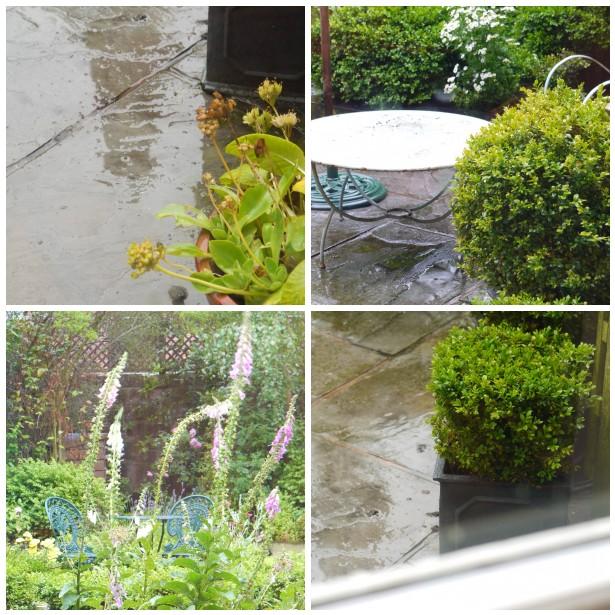 Mosaic wet garden