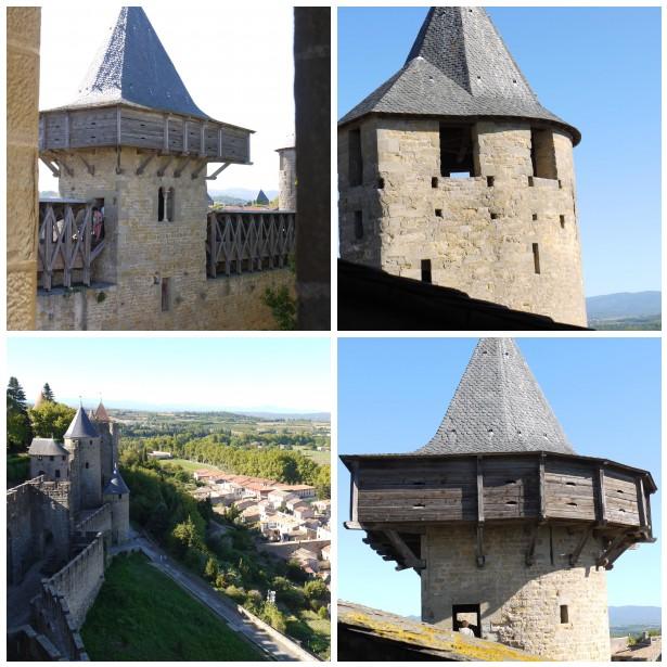 Mosaic carc castle turrets