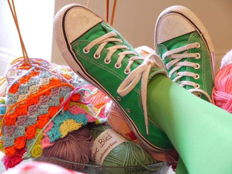 Legs,-yarn
