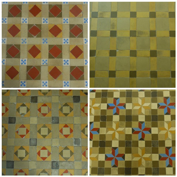 Mosaic floors spain