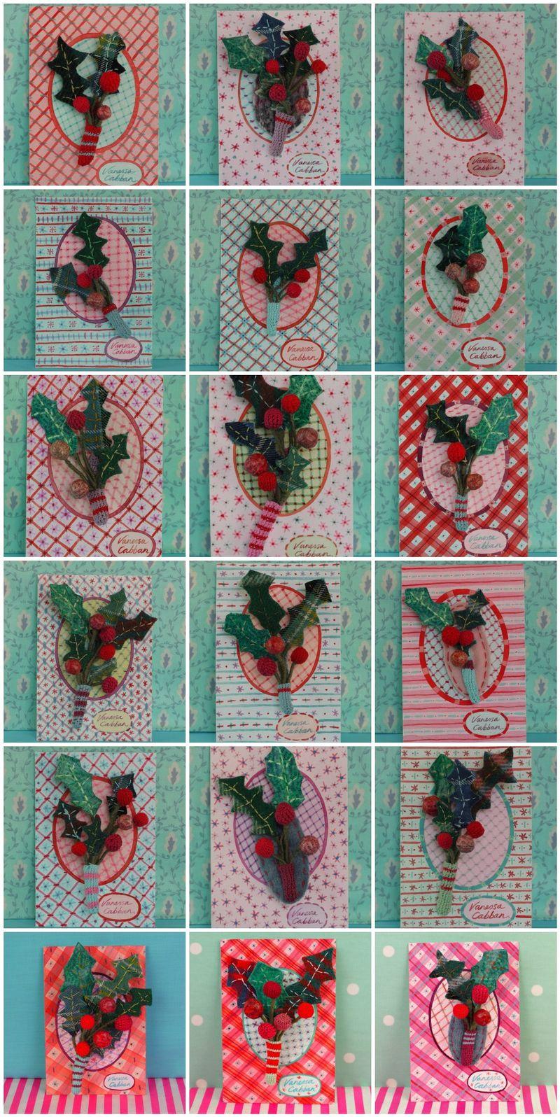 Mosaic 18 brooches